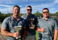 2018 South West Slopes Credit Union Men Championship winners